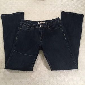 Levi's 515 Bootcut High-Rise Stretch Jeans size 8